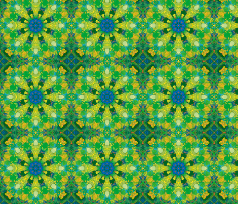 kaleidoscopic funky fabric by kociara on Spoonflower - custom fabric