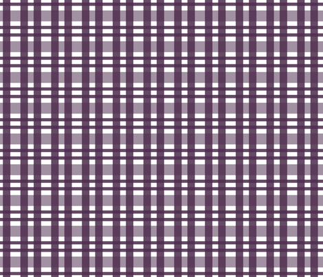purple_gingham fabric by emilyb123 on Spoonflower - custom fabric