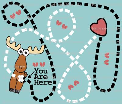 Moose Tracks Map