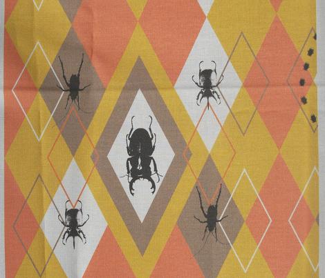 Beetle Argyle Halloween