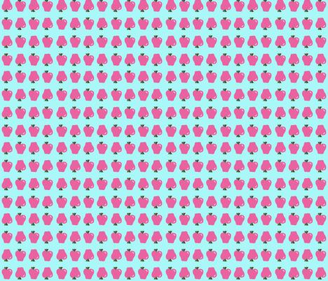 Apple Doodle fabric by beththompsonart on Spoonflower - custom fabric
