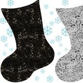 Rrblack___grey_lace_christmas_stocking_on_blue_snowflakes_shop_thumb