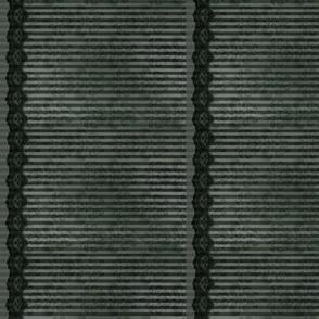 Steampunk Lady - Grey Stripe - Doll scale