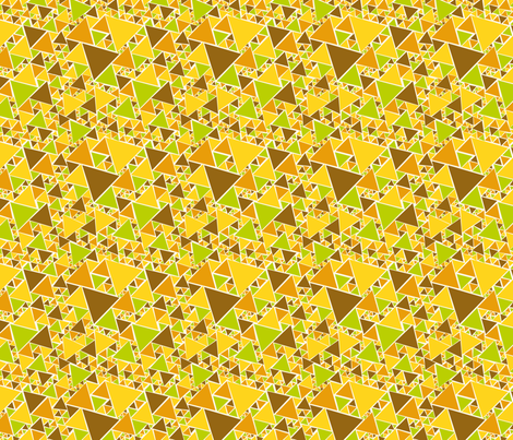 That 70's triangulate fabric by seabluestudio on Spoonflower - custom fabric