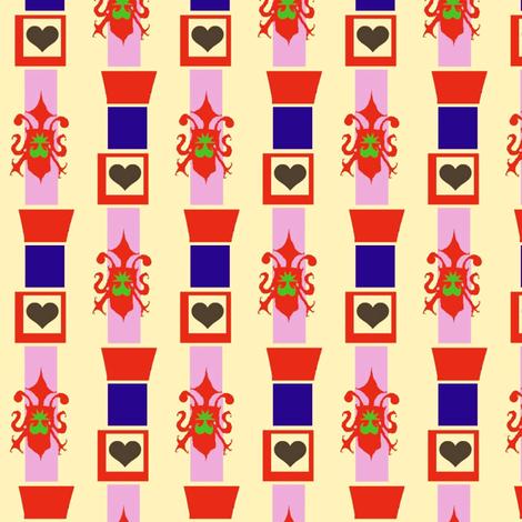 Princess Wallpaper fabric by boris_thumbkin on Spoonflower - custom fabric