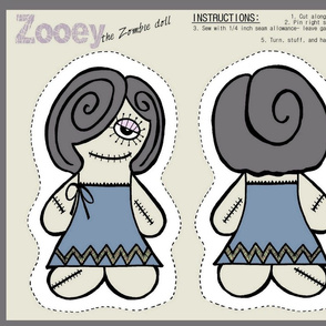 Zooey the Zombie Doll
