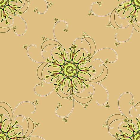Flourish  fabric by joanmclemore on Spoonflower - custom fabric