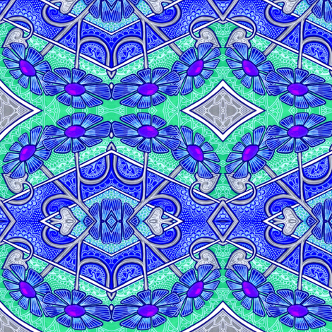Happenstance and Lace fabric by edsel2084 on Spoonflower - custom fabric