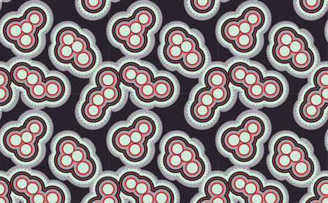Ink Mitosis fabric by mewack on Spoonflower - custom fabric
