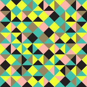 80s triangle pattern
