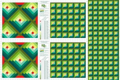 CELEBRATING 80s_FADS-LONGSTITCH & PATCHWORK fabric by pavlovais on Spoonflower - custom fabric