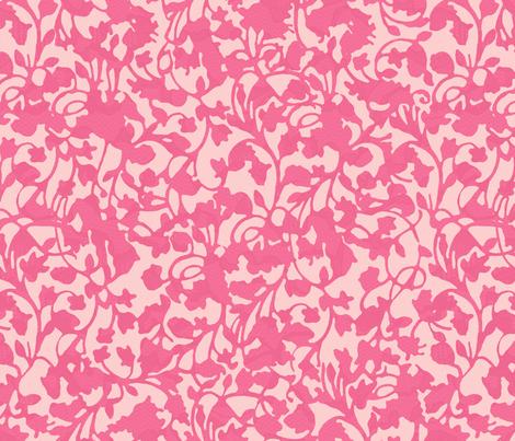 Earth_Flamingo fabric by garimadhawan on Spoonflower - custom fabric