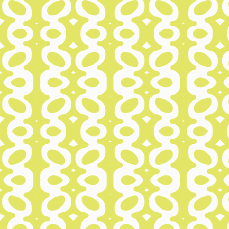 Egg Drop Stripe (white & key lime) fabric by pattyryboltdesigns on Spoonflower - custom fabric