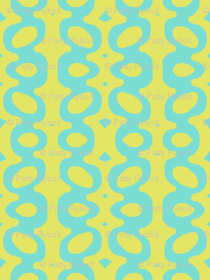 Egg Drop Stripe (tropical sea & key lime)