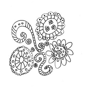 Swirls of Flowers
