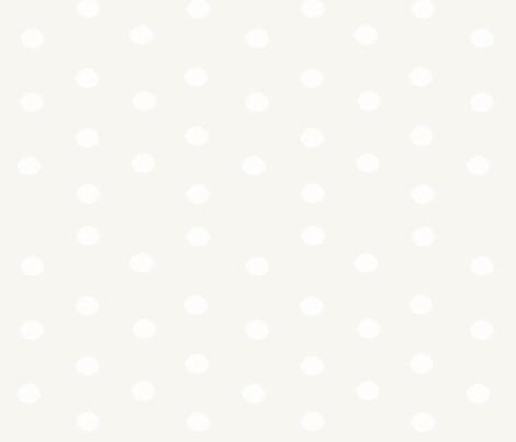 Cream Polka Dots fabric by shastafeltman on Spoonflower - custom fabric