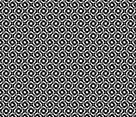 Black and White Pattern/Geo169 fabric by mosaicdreams on Spoonflower - custom fabric