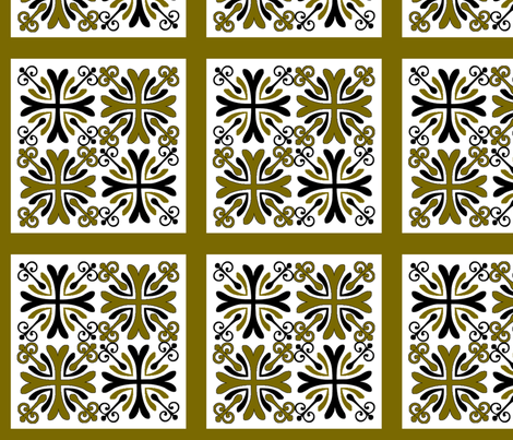 Block 6 fabric by tulsa_gal on Spoonflower - custom fabric