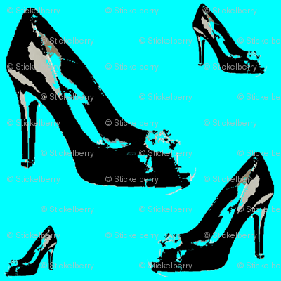 Shoes2 in Tiffany Blue