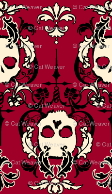 SkullScapes-Red