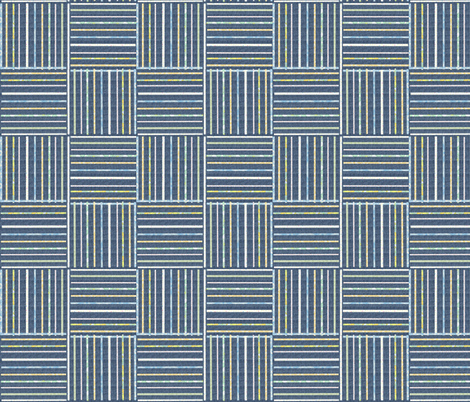 Stripes on Denim fabric by tulsa_gal on Spoonflower - custom fabric