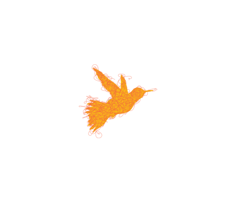 Fly Away fabric by lilbirdfly on Spoonflower - custom fabric