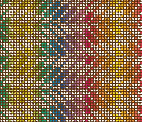 ZIGZAG_DOT_RAINBOW fabric by ginger&cardamôme on Spoonflower - custom fabric