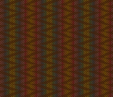 ZIGZAG_DOT_RAINBOW S fabric by ginger&cardamôme on Spoonflower - custom fabric