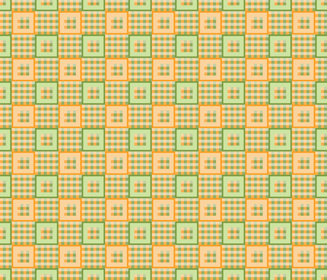 Pumpkin Patch Plaid fabric by jjtrends on Spoonflower - custom fabric