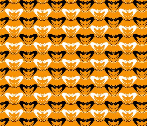 Cat_Mönsterdel_6 fabric by ecepelin on Spoonflower - custom fabric