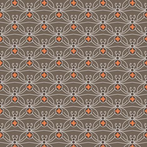 A Web of Black Widows fabric by kayajoy on Spoonflower - custom fabric