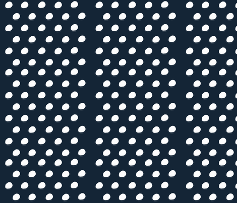 Blue Polka Dots fabric by shastafeltman on Spoonflower - custom fabric