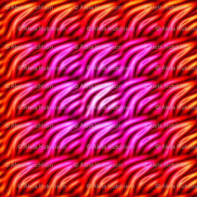 haute pink waffle