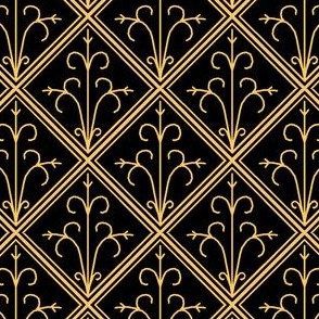 Tiled Gold