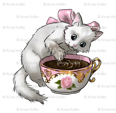 Kitten Tea Party, Playful Guest