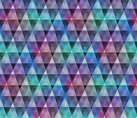 Qbist_diamonds_dk_subdued_multicolors_brt_seamless_fleur_de_lis_shop_preview