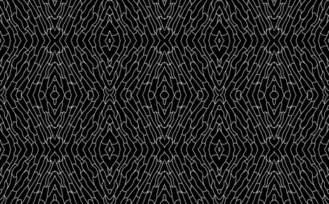 Black and White Skin fabric by mewack on Spoonflower - custom fabric