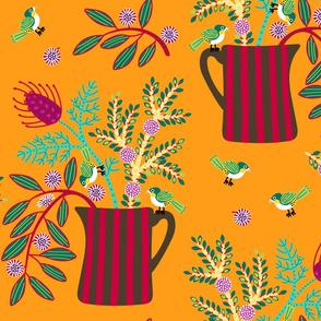 Wildflowers_and_silvereyes