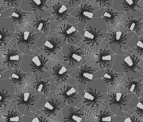 Creepy crawlers fabric by bitsofbobs on Spoonflower - custom fabric