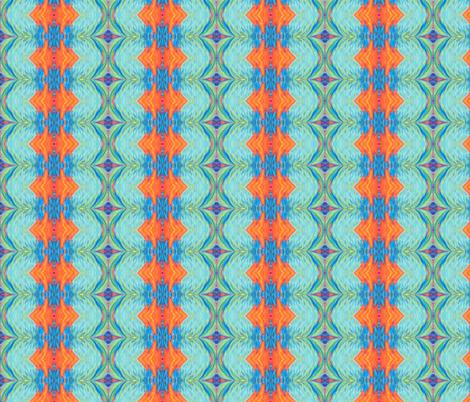 Diamonds and Arrows by Cindy Wilson fabric by cindywilsonart on Spoonflower - custom fabric