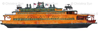 Staten Island Ferry John F. Kennedy