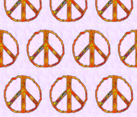 A Bright Peace fabric by spontaneouscombustion on Spoonflower - custom fabric