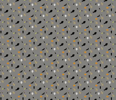 halloween-stof fabric by mandrake on Spoonflower - custom fabric