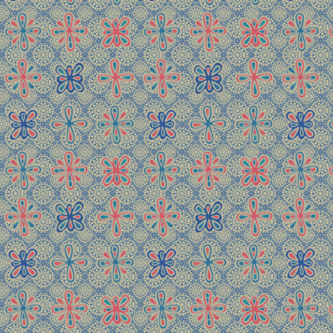 MEDALLION_LACE_COLONIAL fabric by glimmericks on Spoonflower - custom fabric
