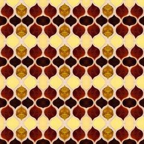 Amber & Gold Mosaic