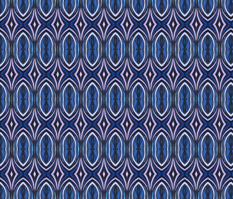 Graffiti Blues fabric by mikep on Spoonflower - custom fabric