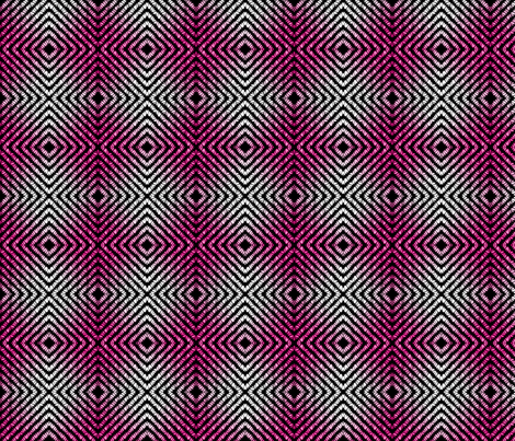 tickled pink plaid fabric by spontaneouscombustion on Spoonflower - custom fabric