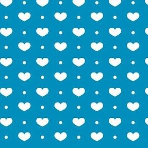 Hearty in blue