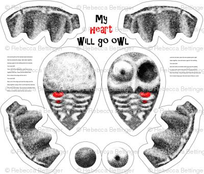 My Heart Will Go Owl