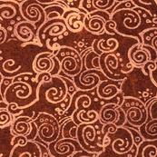 curl of smoke brown